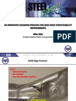An Innovative Shearing Process for AHSS Edge Stretchability Improvements