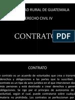 Clase Unica Civil IV Contratos. Noe