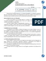 CLASE 03 - GUIA N°3 - EL RESURGIMIENTO DE LAS CIUDADES