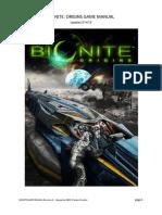 Bionite Game Manual BETA_R4