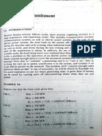 Unit Commitment Notes
