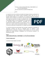 Segunda Declaracion de la Coalicion Na cional de Política de drogas - VF