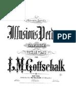 Fantome de Bonheur, Illusions Perdues, Caprice, Op 36 D51 RO94 (Hall&Sons 1884)