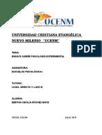 Ensayo sobre psicología experimental.docx