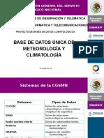 Meteorología y Climatología CONAGUA