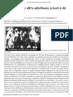La Révolte de 1871 Attribuée à Tort à Al Mokrani _ _ Débats