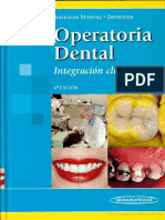 Operatoria Dental Escrito Por Julio Barrancos Mooney Patricio J Barrancos