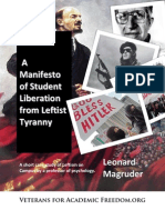 A Manifesto of Student Liberation From Leftist Tyranny2