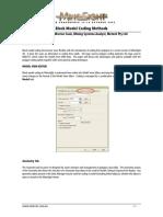Block Model Coding Methods
