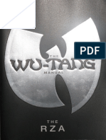 The Wu-Tang Manual Book One RZA