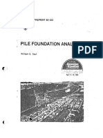PILE Foundation Analysis_ASCE William Saul-1980_searchable