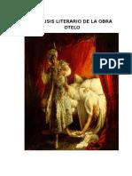 Analasis Literario de Otelo
