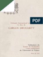 Coloquio Internacional Sobre Droguett