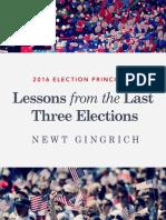2016 Election Principles
