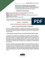 Guía Para La Integración de Evidencias - (2)