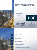 Balance Economico Panama 2015 y Perspectivas 2016 - Foro de Capital Financiero Oct. 2015.pdf