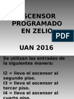 Ascensor Programado en Zelio
