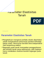 Materi Kuliah IV -Modulus Elastisitas Tanah
