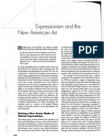 HH Arnason - Abstract Expressionism And The New American Art (Ch. 19)