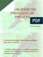 A Qualidade No Processo de Projeto