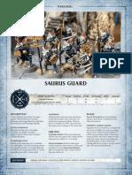 Aos Warscroll Saurusguard En