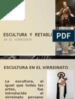 Escultura y Retableria