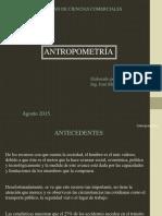Que es antropometria