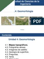 Unidad 4 Geomorfología