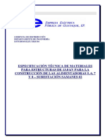 Especificacione Tecnicas Materiales Lineas de 13 Kv 5 6 7 y 8 Se Samanes 2