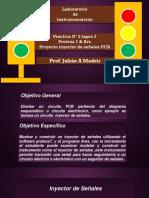 Practica Nº 2 lapso 3   Proteus 7 & Ars. Proyecto inyector de señales PCB