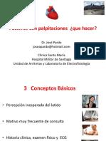 Paciente Con Palpitaciones Que Hacer DR JOSE PARDO