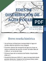 Redes de Distribución de Agua Potable