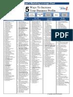 Daftar Cara Meningkatkan Profit 60 Persen