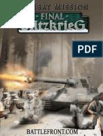 CM Final Blitzkrieg Manual