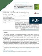 Serviceability Assessment of the Góis Footbridge Using Vibration Monitoring