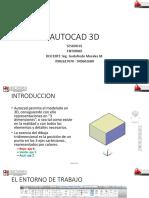 AUTOCAD 3D sesion01