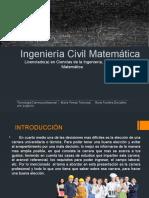 Ingeniería Civil Matemática