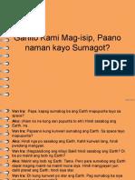 Ganito Kami Mag-Isip, Paano Naman Kayo Sumagot