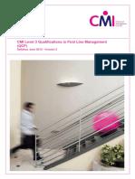 Level 3 First Line Management June 2015 Syllabus v03