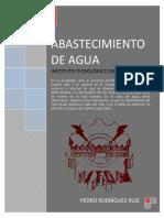 Abastecimiento de Agua - Pedro Rodriguez Ruiz