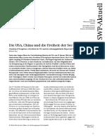 SWP_Die USA, China Und Die Freiheit Der See