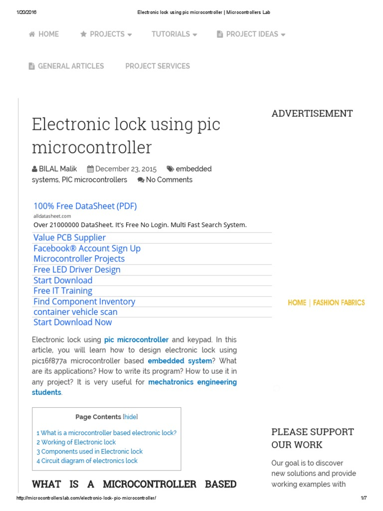 Electronic lock using pic microcontroller _ Microcontrollers Lab.pdf ...