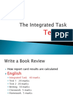 The Integrated Task - Term 3