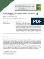 Dynamic Behaviour of an Asymmetric Building- Experimental and Numerical Studies
