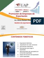 Ayuda 3- Exportación