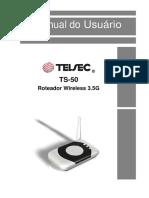 TS-50 Manual Do Usuário