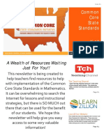 ccss math newsletter