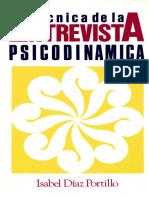 TECNICA DE LA ENTREVISTA PSICODINAMICA.pdf