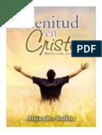 BULLON, Alejandro. 2011. Plenitud en Cristo