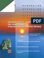 Nervio óptico en Glaucoma y Glaucoma Miopico